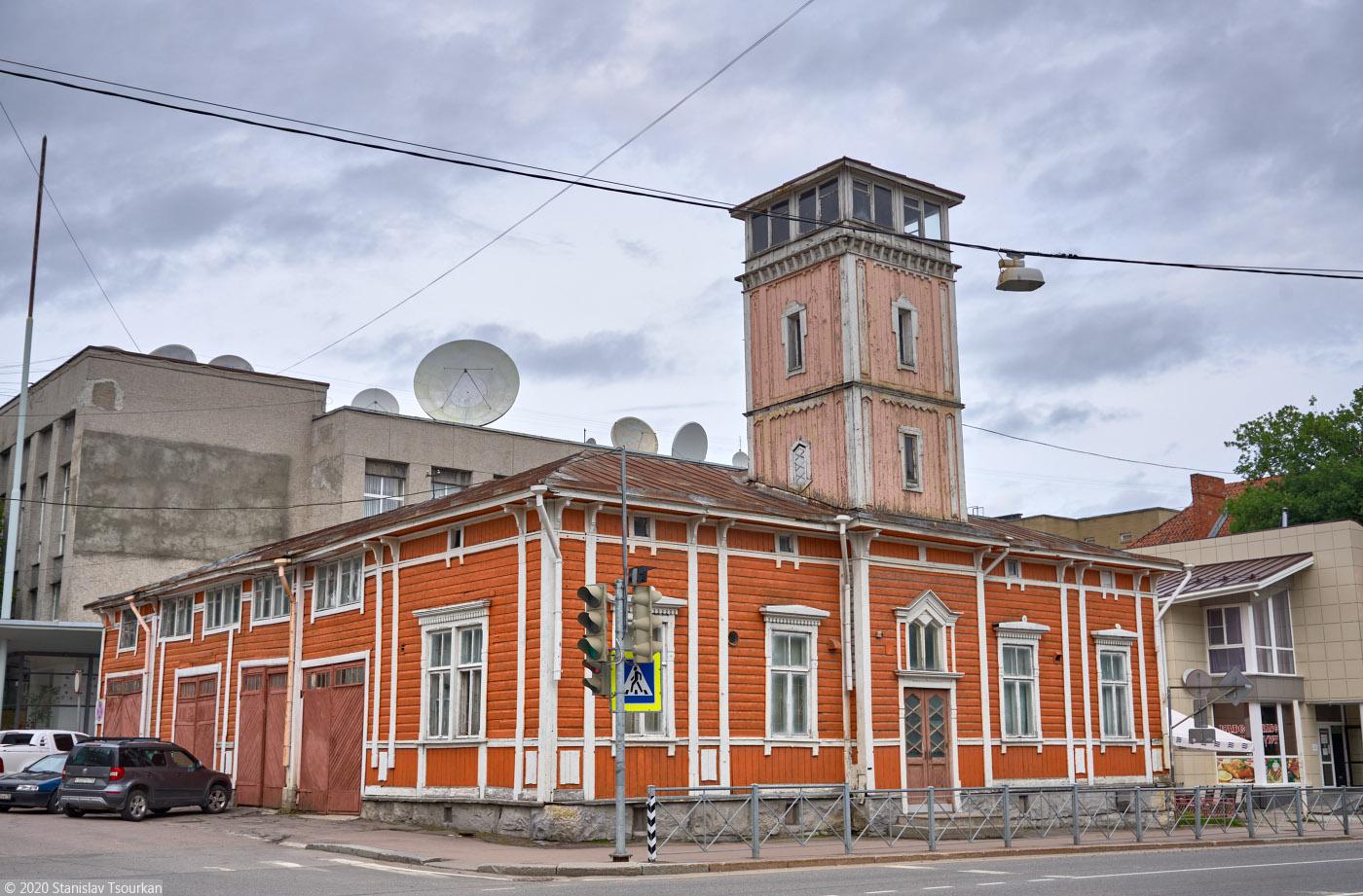 Карелия, республика Карелия, Сортавала, russia, karjala, sortavala, карельская улица, пожарная каланча